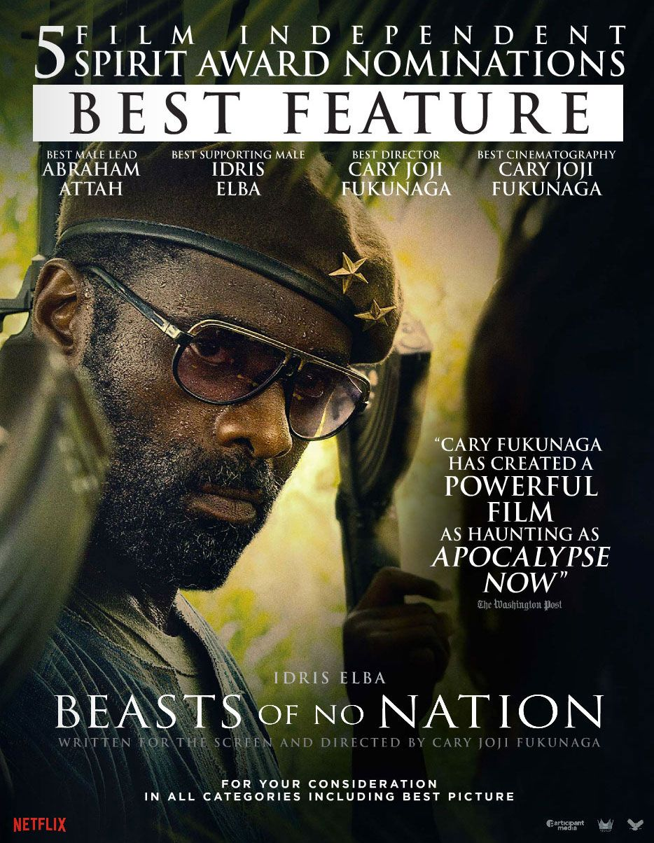 Beasts of No Nation เดรัจฉานไร้สัญชาติ